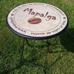 Table bistrot pliable MAPALGA