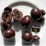 Grain de café enrobé de chocolat fondant