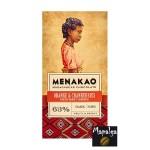 Chocolat noir 63% - Ecorces d'orange et Cranberries MENAKAO