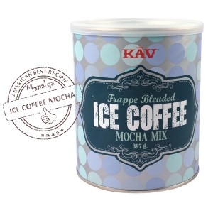 Ice Coffee Mocha MIX 397g - KAV AMERICA