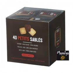 Cube 40 petits sablés carrés Goulibeur