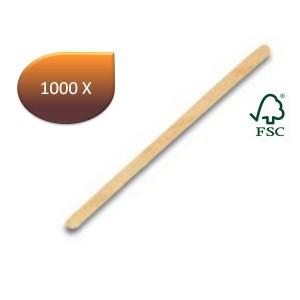 Spatule à café bois (11 x 0.6 cm) x 1000 unités