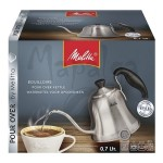 Bouilloire inox induction  0.75L Melitta + 250g café moulu