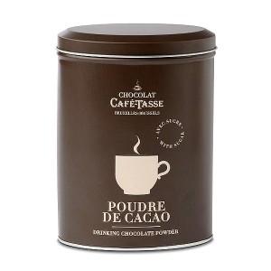 Poudre de cacao boite métal CAFE-TASSE 250g