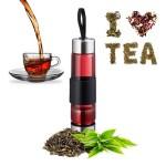 Bouteille de thé avec tamis 450ml RELAXDAYS