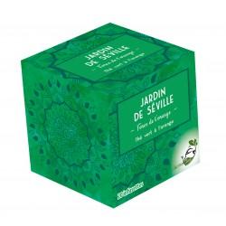 Thé vert  JARDIN DE SEVILLE LOMATEA x 20 infusettes pyramides
