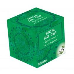 Thé vert Sencha Earl Grey LOMATEA x 20 infusettes pyramides