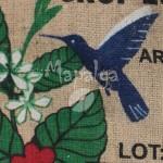 Sac de café vide en toile de jute Honduras COAGRICSAL
