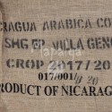 Sac de café vide en toile de jute - CISA - Nicaragua Arabica Coffee