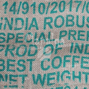 Sac de café vide en toile de jute - India Robusta