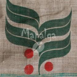 Sac de café vide en toile de jute - Brésil