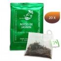 Thé vert NOCES DE JASMIN LOMATEA x20 infusettes individuelles