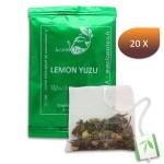 Thé Vert Lemon Yuzu LOMATEA infusette individuelle