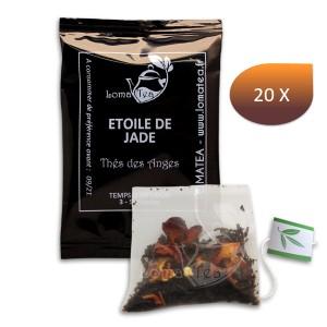 Thé noir L'étoile de Jade LOMATEA x 20 infusettes individuelles
