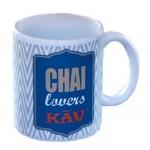 Mug porcelaine de qualité CHAI LOVERS KAV