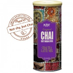 Boite Chai latte East Indian Spices 340g - KAV ORIENT