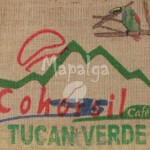 Sac de café vide en toile de jute - COHORSIL - Honduras Arabica