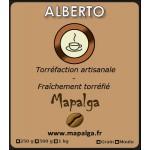 Café ALBERTO mélange de grands cafés 70-30 (grain ou moulu)