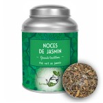 Thé vert NOCES DE JASMIN LOMATEA Boîte métal (100g)
