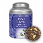 Thé noir Escale à Bombay - CHAI - LOMATEA Boîte métal (100g)
