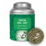 Thé vert Sencha Earl Grey LOMATEA Boîte métal (100g)
