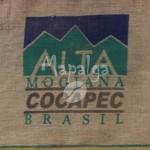 Sac de café vide en toile de jute - Alta Mogiana Cocapec - Bresil