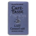 Tablette chocolat au lait caramel salé 9g - CAFE TASSE