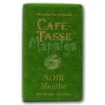 Tablette chocolat noir menthe 9g - CAFE TASSE