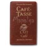 Tablette chocolat au lait Café 9g - CAFE TASSE