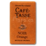 Tablette chocolat noir Orange 9g - CAFE TASSE