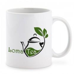 Mug blanc 25cl LOMATEA