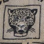 Sac de café vide en toile de jute - Produce of D.R. Congo