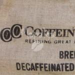 Sac de café vide en toile de jute - Coffein Compagnie