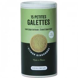 15 petites galettes CITRON GINGEMBRE GOULIBEUR - 150g