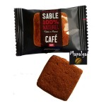 Sablés Café 6g emballés individuellement x 170 Goulibeur