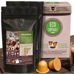 PACK 100 X ECOCAPSULE + 500G CAFE TOP ARABICA