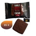Sablés Cacao extra Brut GOULIBEUR - 85 unités