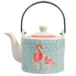 Théière céramique flamingo 1 litre - SEMA 98766
