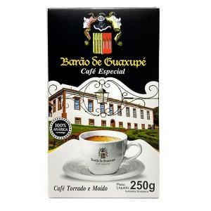 Café du Brésil Barao de Guaxupé moulu 250g DLUO DEPASSEE