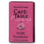Tablette chocolat noir framboise 9g - CAFE TASSE