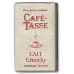Tablette chocolat au lait Crunchy 9g - CAFE TASSE