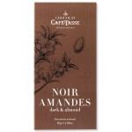 Tablette Chocolat noir et amandes CAFE-TASSE 85g
