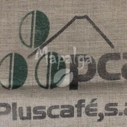 Sac de café vide en toile de jute - PCA -PLUSCAFE