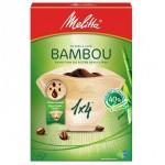 Filtres à café MELITTA BAMBOU 1X4  80 unités