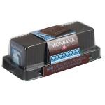 Réglette 24 carrés de chocolat noir origine Costa Rica  95g MONBANA