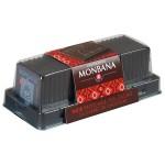 Réglette 24 carrés de chocolat noir origine Papouasie 95g MONBANA
