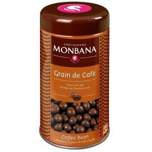 Grains de café enrobés de chocolat au lait 180g MONBANA