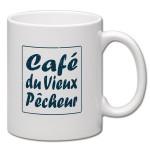 Mug blanc 25cl Café du Vieux Pêcheur