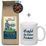RECHARGE Café grain LA BISTOULE 500g - CAFÉ DU VIEUX PÊCHEUR