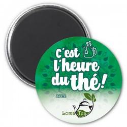Magnet C'est l'heure du thé LOMATEA - Vert